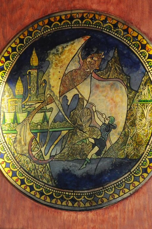 Bilbo's Stained Glass Dragon