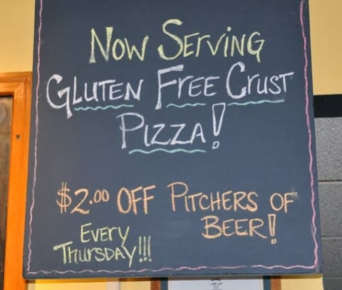 Gluten Free Crust Now Available